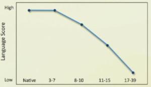 言語能力グラフ